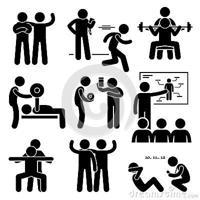 trænings logoer